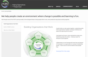 Hope Learning Models Screenshot